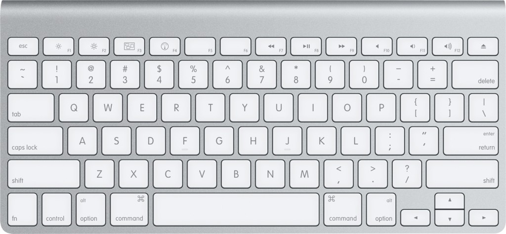 US – International PC keyboard, letter with acute diacritic, Mac OS ...